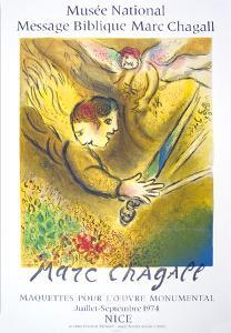 The Angel Of Judgement, 1974 by Marc Chagall