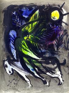 The Angel. by Marc Chagall
