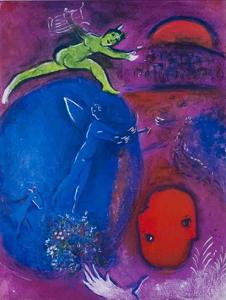 The Dream of Lamon and Dryas by Marc Chagall