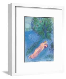 The Lesson of Philetas - From the Illustrated Book Daphnis and Chloë by Marc Chagall