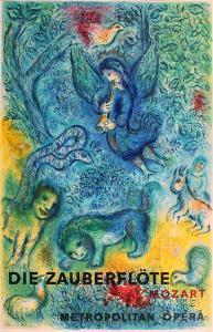 The Magic Flute (Die Zauberflote) by Marc Chagall