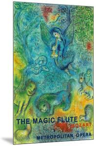 The Magic Flute - Mozart - Metropolitan Opera by Marc Chagall