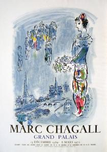 The Magician Of Paris by Marc Chagall