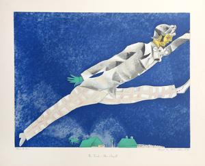 The Traveler by Marc Chagall