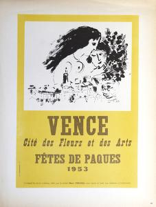 Vence Fetes de Paques by Marc Chagall