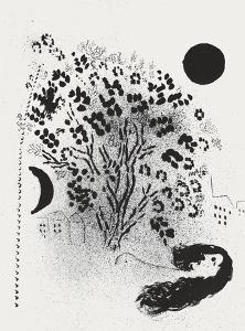 Vision de Paris Grand Arbre by Marc Chagall