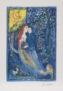 Wedding by Marc Chagall