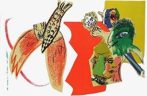 XXème Siècle - Composition by Marc Chagall