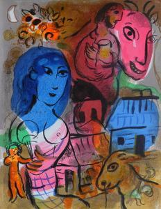 XXème Siècle - Hommage À Marc Chagall by Marc Chagall