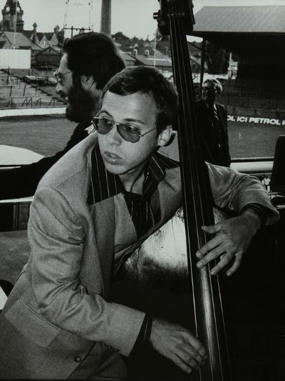 Marc Johnson and Bill Evans at the Newport Jazz Festival, Ayresome Park, Middlesbrough, 1978-Denis Williams-Photographic Print
