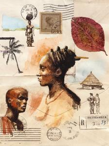 African Profiles by Marc Lacaze