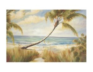 Shoreline Palms I by Marc Lucien