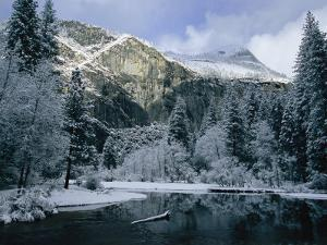 A Winter View of the Merced River by Marc Moritsch