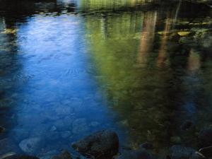 Beautiful Colors are Reflected in the Merced River by Marc Moritsch