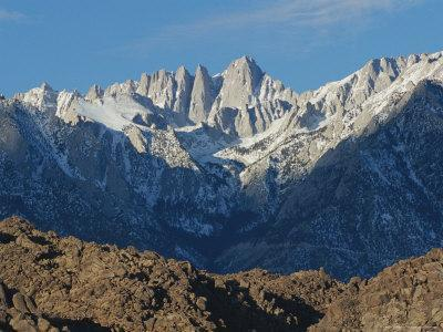 Panoramic View of Mount Whitney