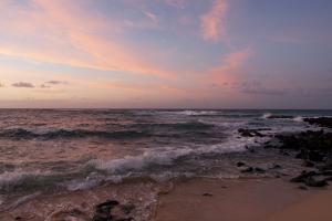 Sunrise on the Beach at Poipu Beach by Marc Moritsch
