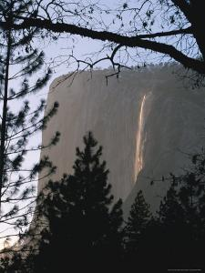 Yosemite National Park's Bridalveil Falls in Muted Light by Marc Moritsch