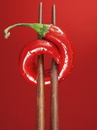 A Chili on Chopsticks