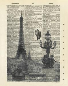 Architectural Paris IV by Marc Olivier