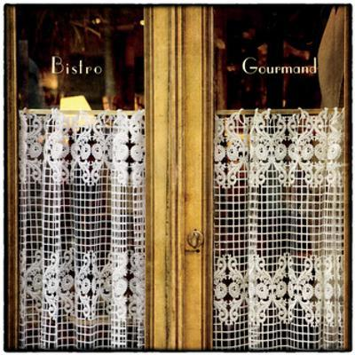 Bistro Window by Marc Olivier