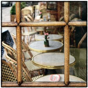 Cafe Window by Marc Olivier