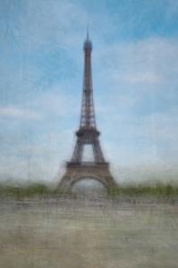 Eiffel Tower Blue Sky by Marc Olivier