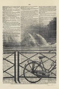 La Bicyclette I Crop by Marc Olivier