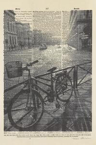 La Bicyclette II Crop by Marc Olivier