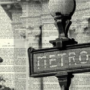 Metro I Crop by Marc Olivier