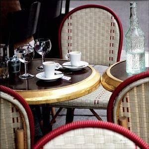 Outdoor Cafe by Marc Olivier