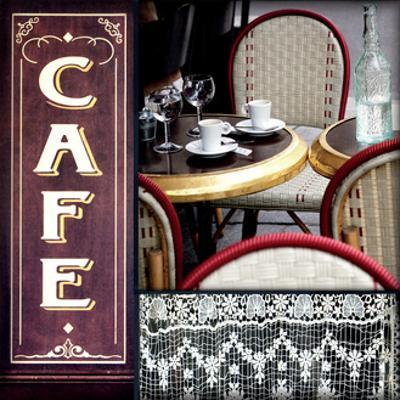 Paris Cafe by Marc Olivier