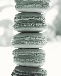 Paris Macaroons BW by Marc Olivier