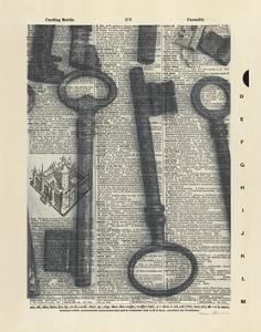 Parisian Keys II by Marc Olivier