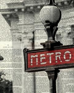 Red Metro I Crop by Marc Olivier