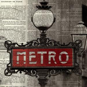 Red Metro II by Marc Olivier