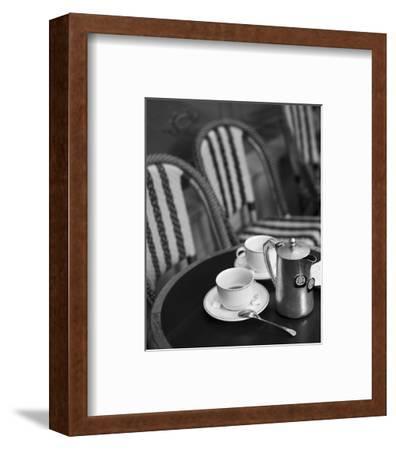 Tea in Paris Black and White