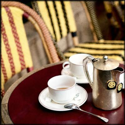 Tea in Paris Crop by Marc Olivier