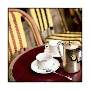 Tea in Paris Crop by Marc Olivier