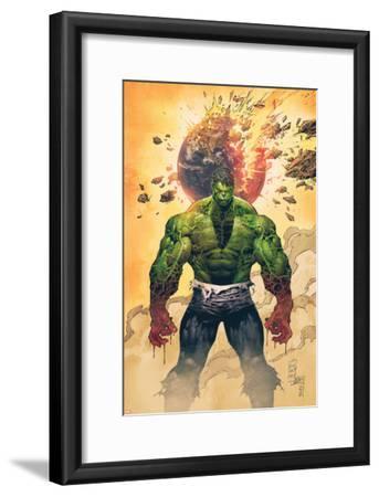 Incredible Hulk No.1 Cover: Hulk Standing