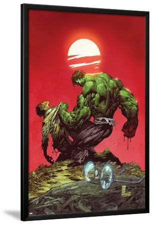 Incredible Hulk No.3: Hulk and Bruce Banner Fighting by Marc Silvestri