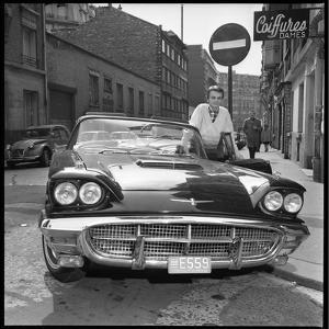 Claude François, 1961, in Paris by Marcel Begoin