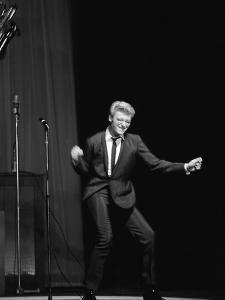 Johnny Hallyday on the Famous Olympia's Stage, Paris, 1960'S by Marcel Begoin