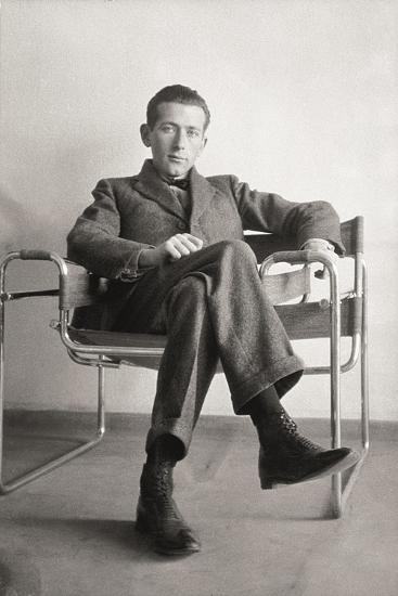 Marcel Breuer in the Wassily Chair, 1926--Giclee Print