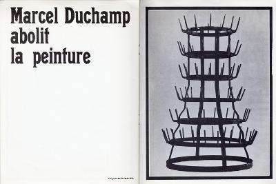 Marcel Duchamp Abolit La Peinture'--Giclee Print