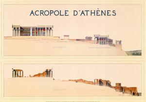 Acropole by Marcel Lambert