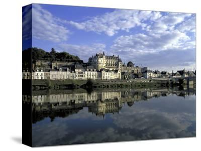 Blois, Loire, View of Town from the River
