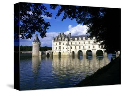 Chenonceau Castle, Loire, View of Chateau Through Trees