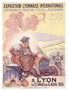 Exposition Lyonnaise by Marcellin Auzolle