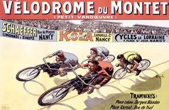 Velodrome du Mont-Marcellin Auzolle-Art Print