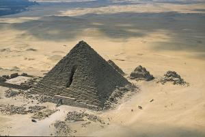 The Pyramid of Menkaure by Marcello Bertinetti